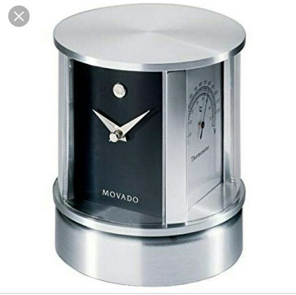 movado accessories rotating desk clock poshmark rh poshmark com movado hanging desk clock movado hanging desk clock